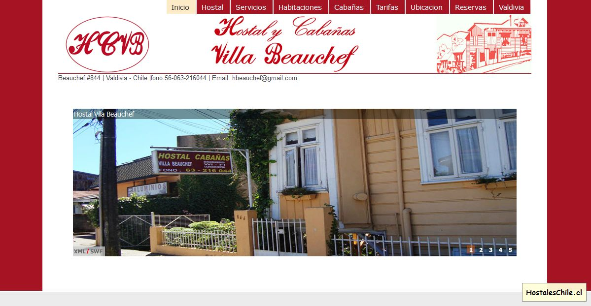 Hostales y Residenciales Chile - 'Bienvenidos a Villa Beauchef' - www_villabeauchef_cl