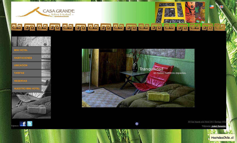 Hostales y Residenciales Chile - 'Casa Grande mini HOTEL' - www_casagrandeminihotel_cl