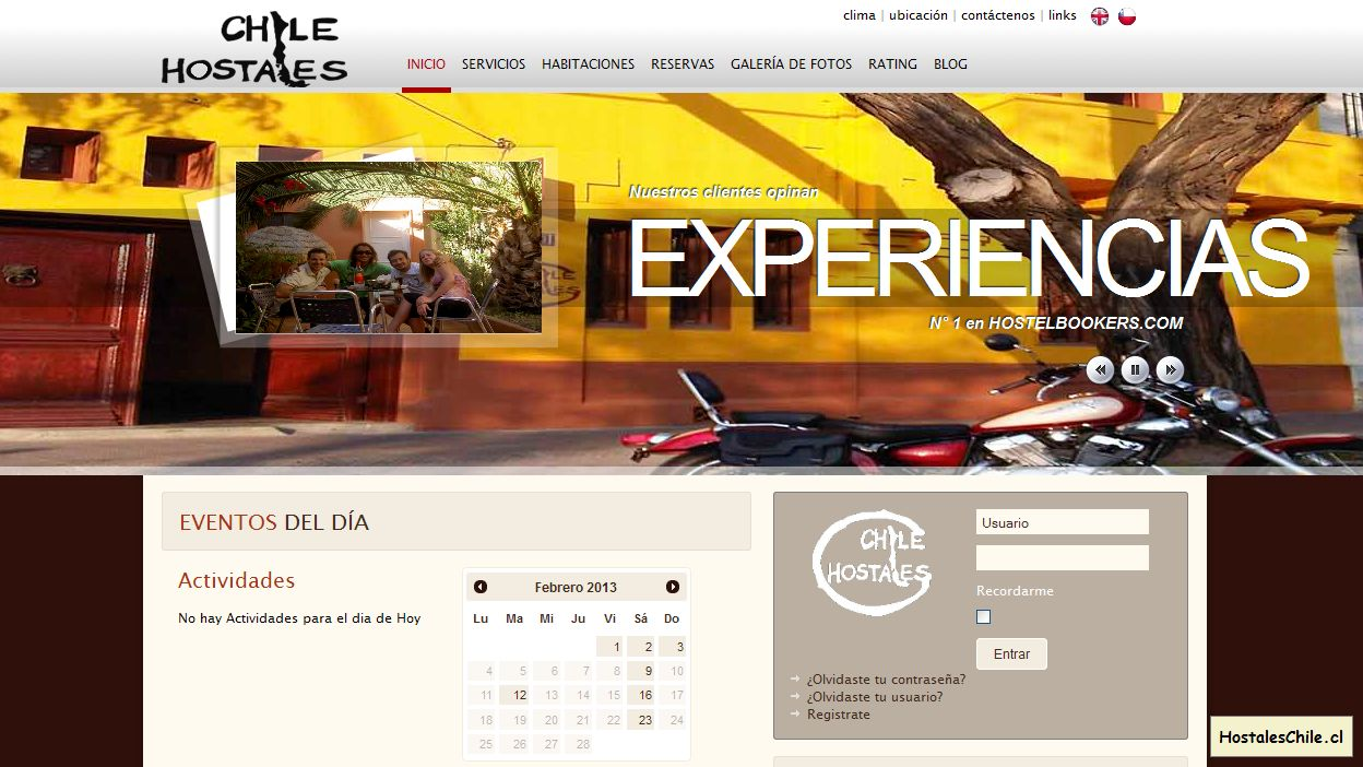 Hostales y Residenciales Chile - 'Chile Hostales, Chile Hostels' - www_chilehostales_com