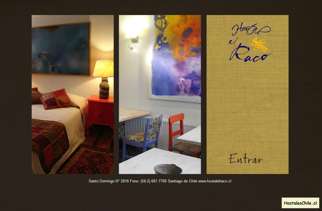 Hostales y Residenciales Chile - 'Hostal El Raco' - www_hostalelraco_cl