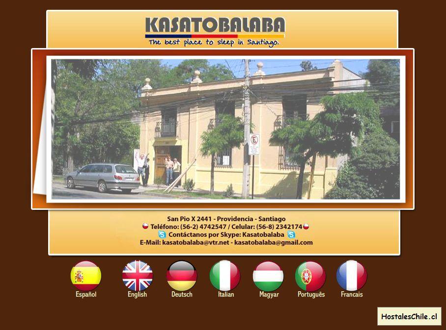 Hostales y Residenciales Chile - 'Hostal Kasatobalaba - Alojamiento en Chile, Hostal, Hostel, Alojamiento en Providencia, Ofertas de Habitaciones' - www_kasatobalab