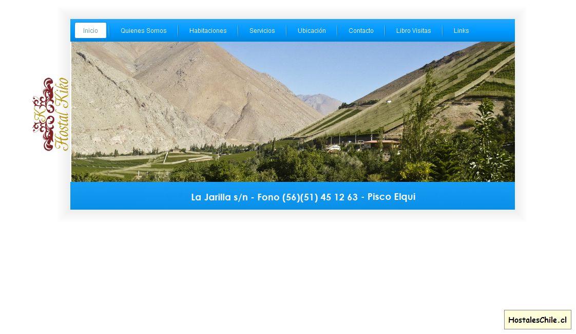Hostales y Residenciales Chile - 'Hostal Kiko' - www_hostalkiko_cl