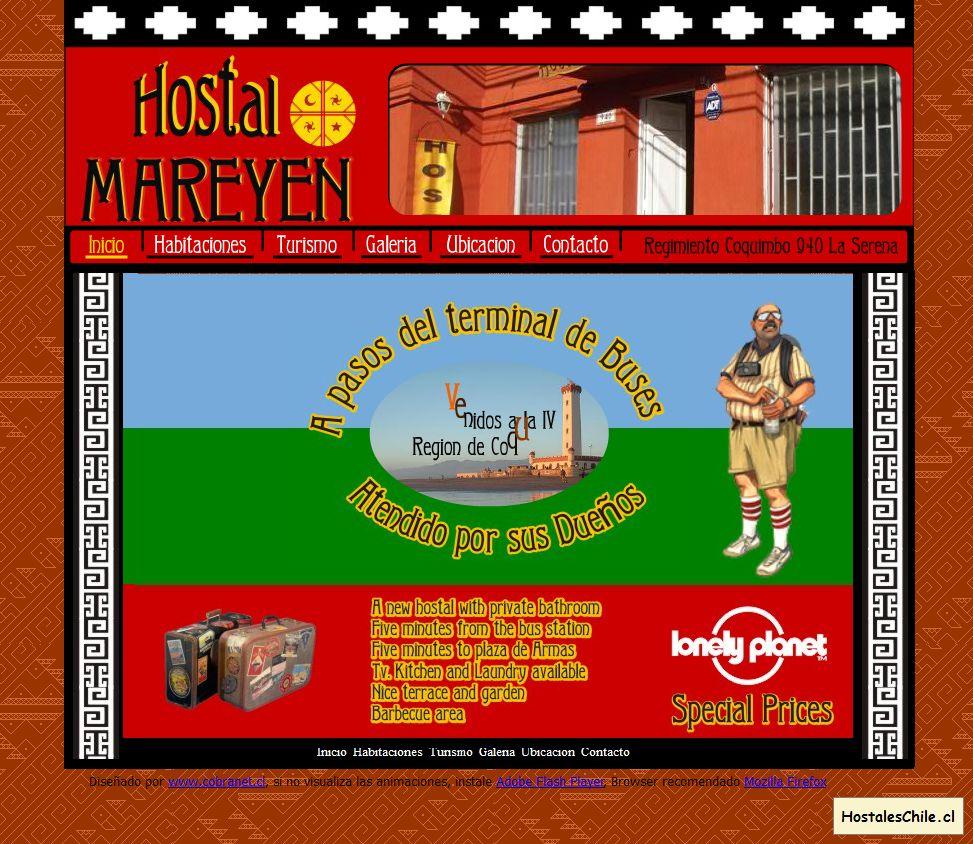 Hostales y Residenciales Chile - 'Hostal Mareyen' - www_hostalmareyen_cl