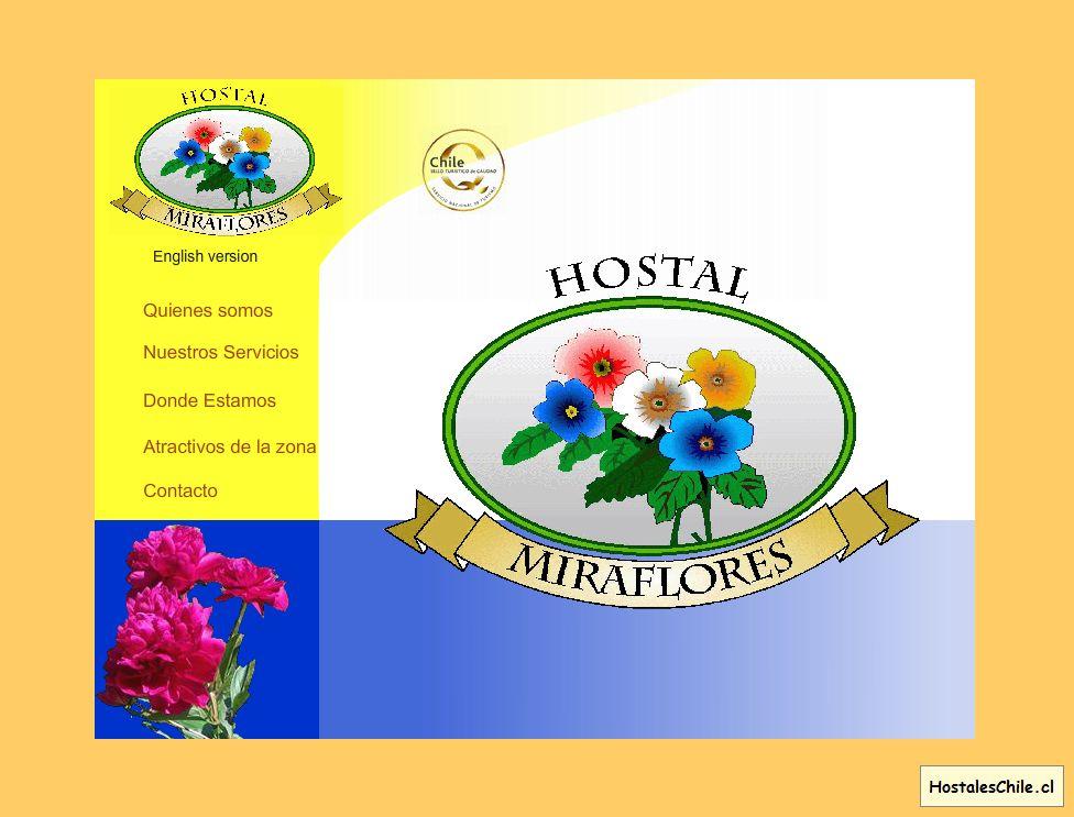 Hostales y Residenciales Chile - 'Hostal Miraflores' - www_hostal-miraflores_cl