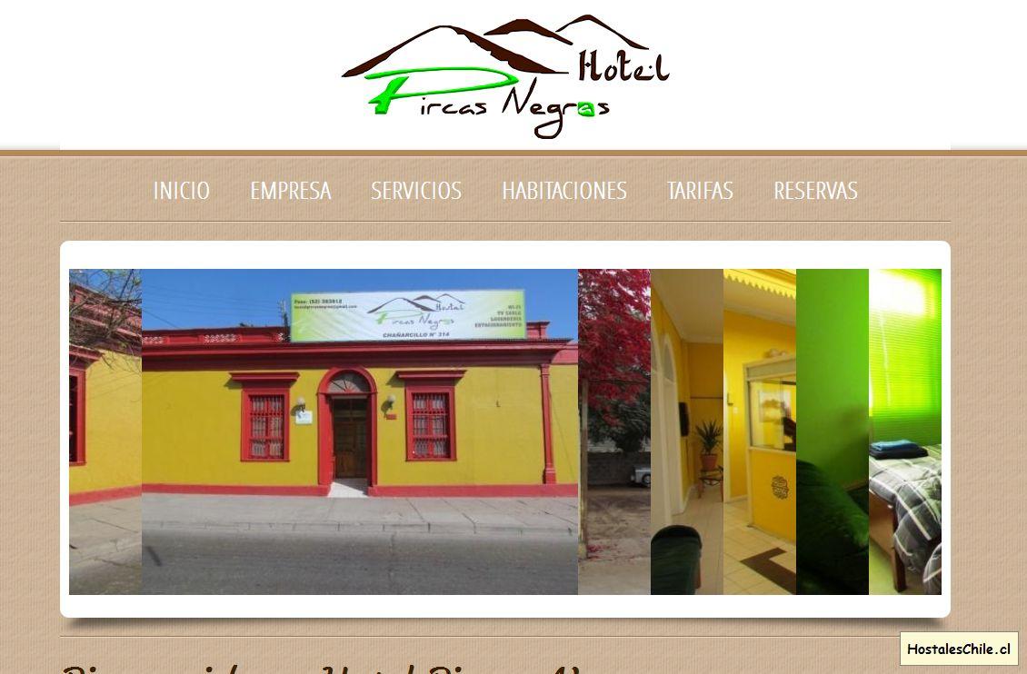 Hostales y Residenciales Chile - 'Hostal Pircas Negras' - www_hostalpircasnegras_cl