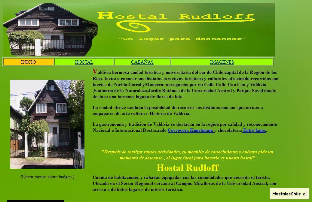 Hostales y Residenciales Chile - 'Hostal Rudloff _Un lugar para descansar_' - www_hostalrudloff_cl