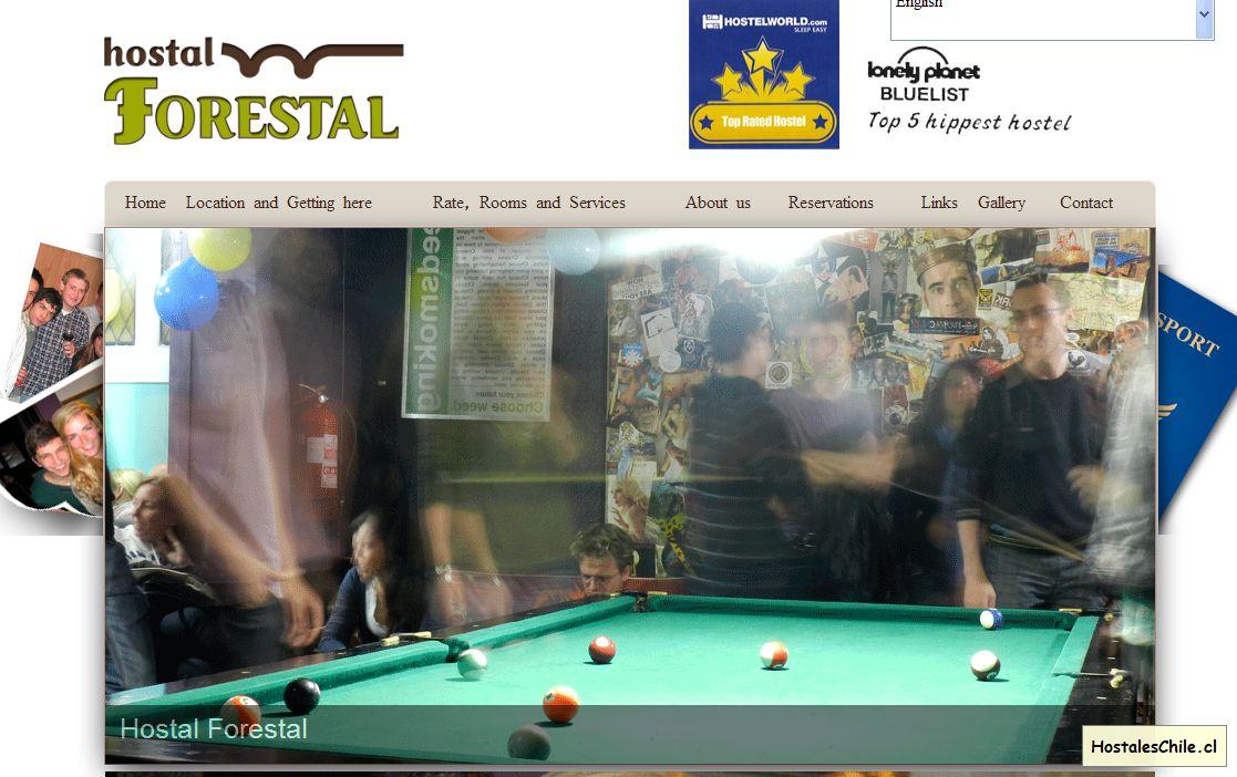 Hostales y Residenciales Chile - 'Hostales en Santiago, Hostels in Santiago, Bellavista Hostels, Hotel' - www_hostalforestal_cl
