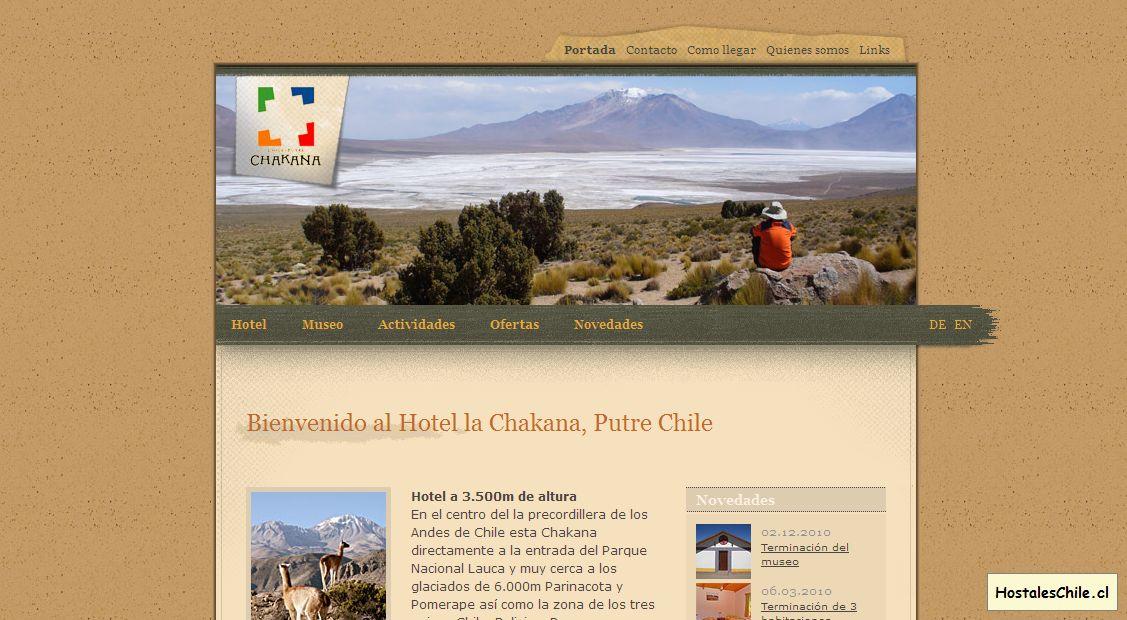 Hostales y Residenciales Chile - 'Hotel, Senderismo y tours en Putre Chile' - www_la-chakana_com