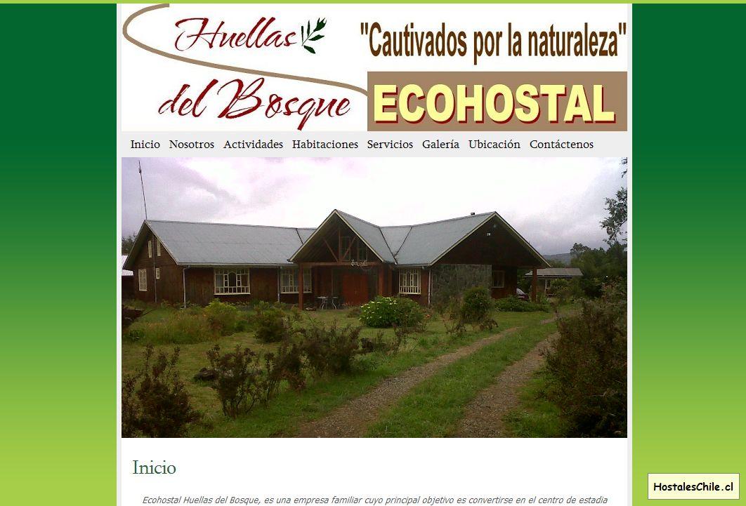 Hostales y Residenciales Chile - 'Huellas del Bosque' - huellasdelbosque_com