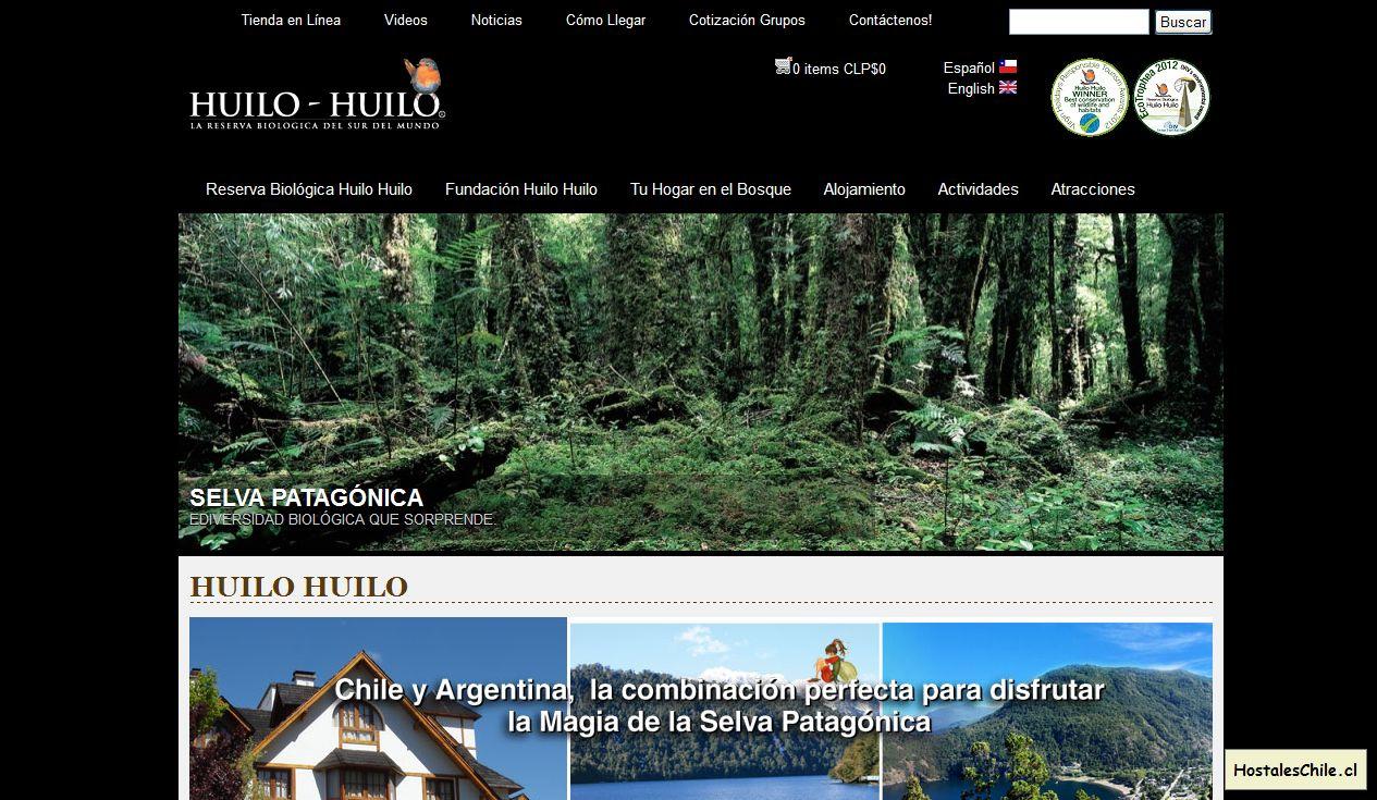 Hostales y Residenciales Chile - 'Huilo Huilo I Huilo Huilo' - www_huilohuilo_com