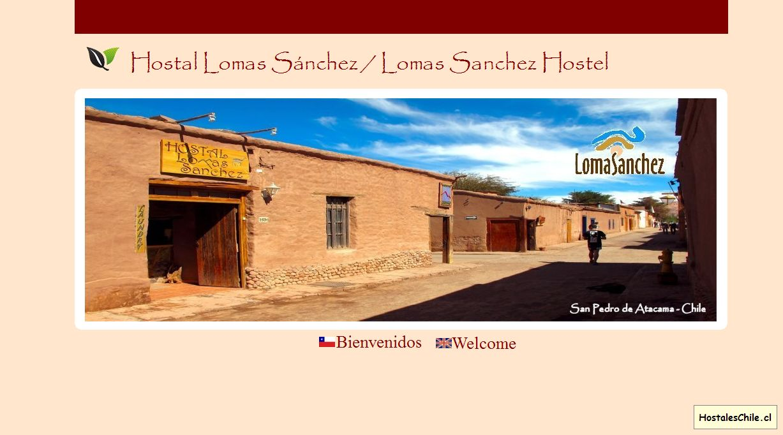 Hostales y Residenciales Chile - 'Lomas Sanchez - Inicio' - www_lomasanchez_cl
