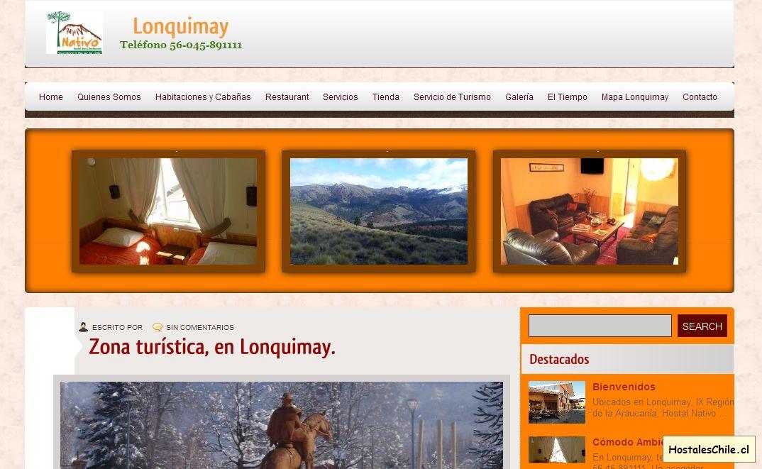 Hostales y Residenciales Chile - 'Lonquimay' - hostalnativo_cl_es