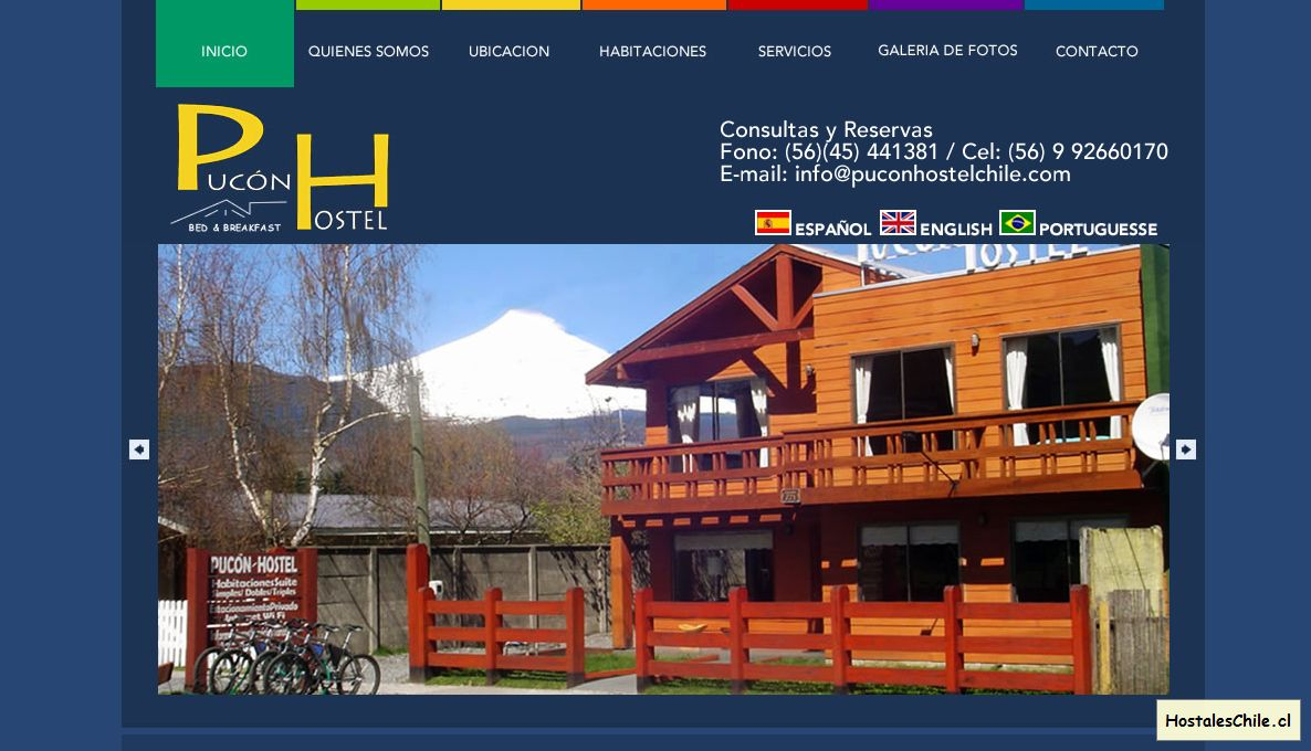Hostales y Residenciales Chile - 'Pucon Hostel Chile' - www_puconhostelchile_cl_publish_index_shtml