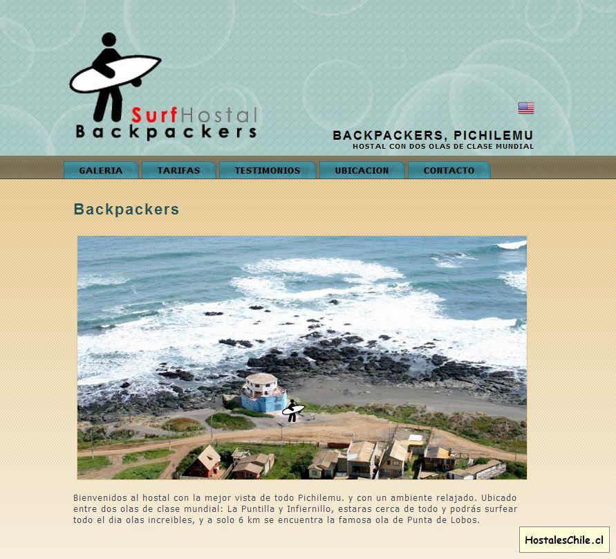 Hostales y Residenciales Chile - 'Surf Hostal Backpackers, Pichilemu' - www_surfhostalbackpackers_cl