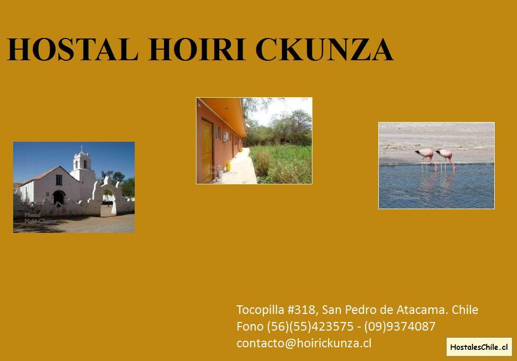 Hostales y Residenciales Chile - 'Untitled' - www_hoirickunza_cl