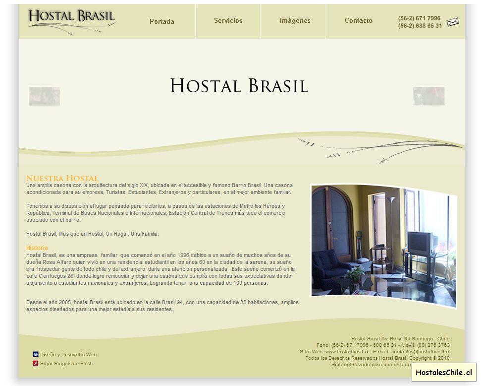 Hostales y Residenciales Chile - '__ Hostal Brasil - Avda_ Brasil 94 - Santiago - Chile __' - www_hostalbrasil_cl
