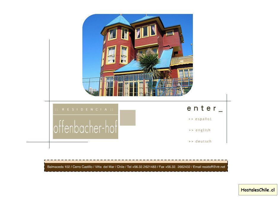 Hostales y Residenciales Chile - '___________ Residencia Offenbacher-Hof ___________' - www_offenbacher-hof_cl