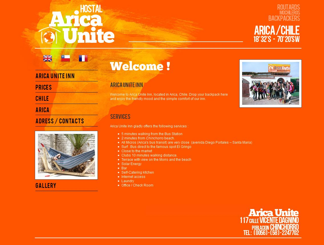 Welcome to Arica Unite Hotel - www_arica-unite-hotel_com