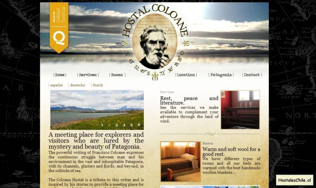 Hostales y Residenciales Chile - 'Coloane Hostel' - www_hostalcoloane_cl