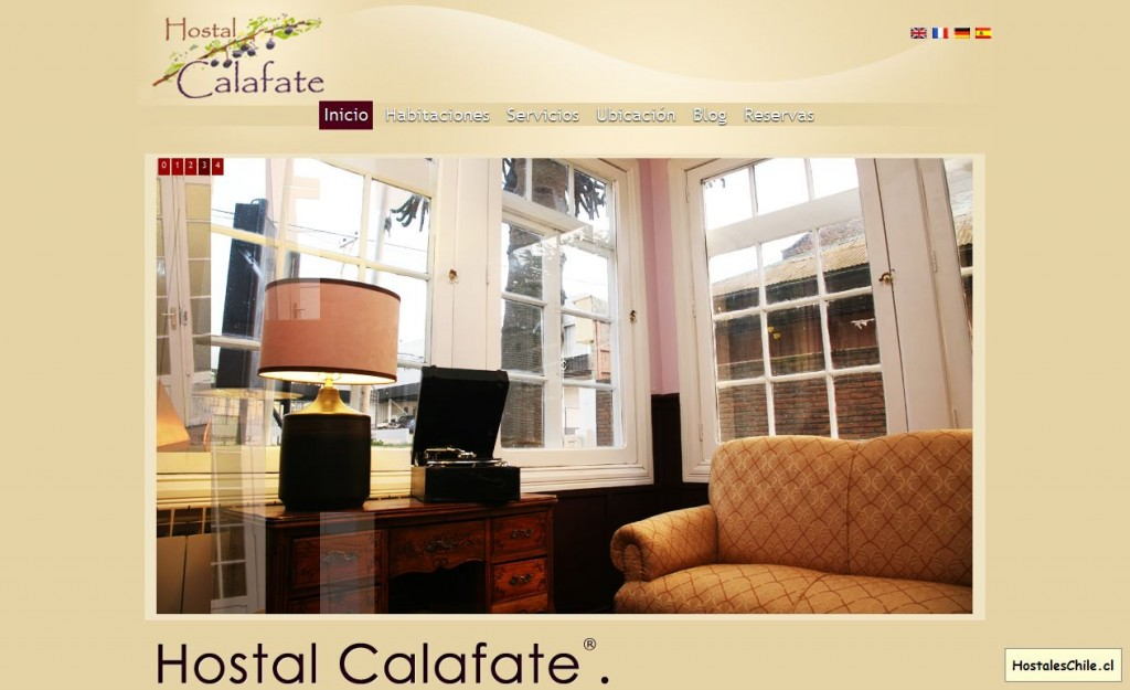 Hostales y Residenciales Chile - 'Hostal Calafate' - www_calafate_cl
