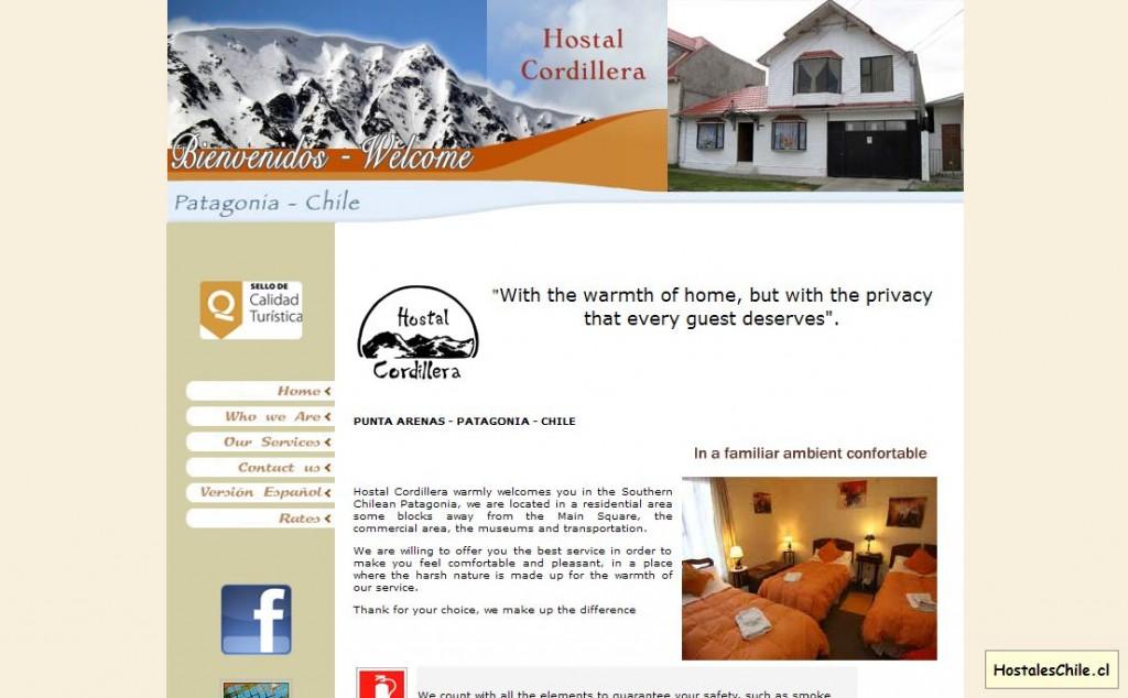 Hostales y Residenciales Chile - 'Hostal Cordillera - Punta Arenas - Patagonia - Chile' - www_hostalcordillera_com