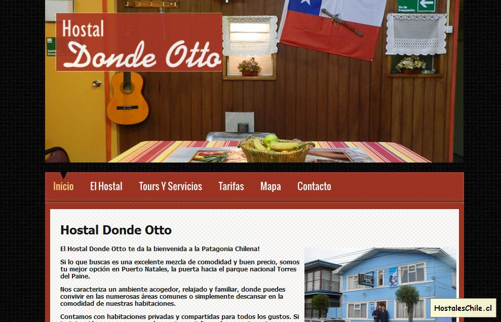 Hostales y Residenciales Chile - 'Hostal Donde Otto' - www_hostaldondeotto_cl
