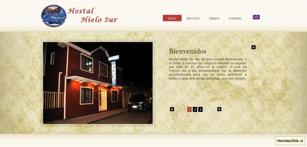 Hostales y Residenciales Chile - 'Hostal Hielo Sur' - www_hostalhielosur_cl