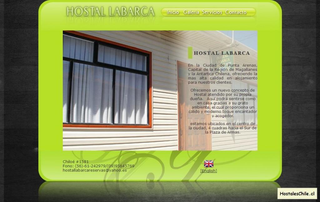 Hostales y Residenciales Chile - 'Hostal Labarca Alojamiento en Punta Arenas Chile' - www_hostallabarca_cl