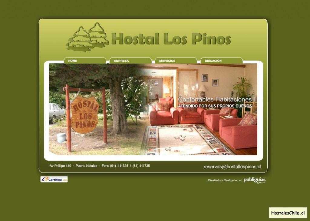 Hostales y Residenciales Chile - 'Hostal Los Pinos' - www_hostallospinos_cl